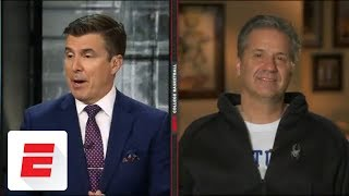 Coach Calipari reacts to Kentucky's seeding in 2018 NCAA Tournament | Bracketology | ESPN