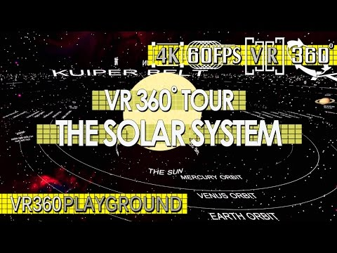 VR 360? Tour - The Solar System VR360 Playground