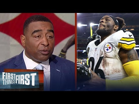 Nick and Cris on Le'Veon saying he'd consider sitting out if franchise tagged | FIRST THINGS FIRST