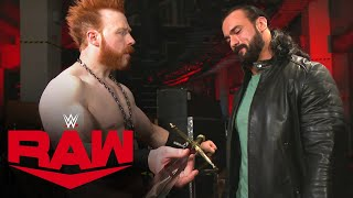 WWE RAW (11/16): Sheamus Gives Drew McIntyre A Gift
