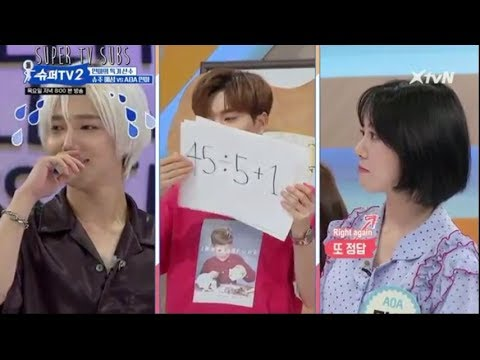 [ENG]SUPERTV S2 EP1-SUJU VS AOA MATH BATTLE