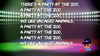 """Kids songs playlist - Kids Are Hip - """"Animal Party"""""""
