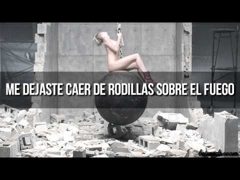Baixar Miley Cyrus - Wrecking Ball (Traducida al español) (Video Oficial)