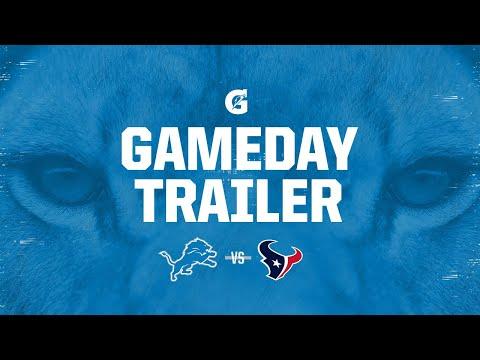 2020 Week 12 Trailer | Detroit Lions vs. Houston Texans
