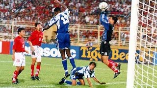 Tiger Cup lịch sử năm 98 - Thế hệ vàng bóng đá Việt Nam