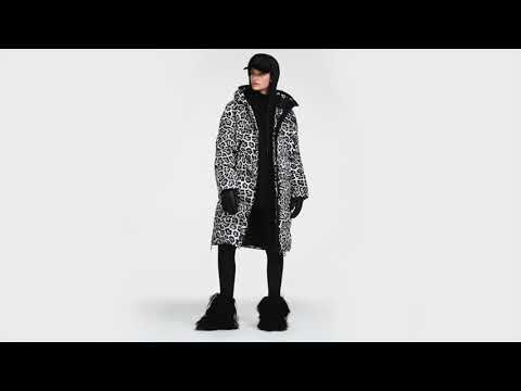 Goldbergh Gullfoss Womens Coat in Leopard