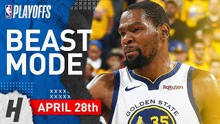 Kevin Durant Full WCSF Game 1 Highlights vs Rockets 2019 NBA Playoffs - 35 Points, BEAST!