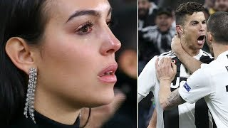 Georgina Rodriguez' moving letter to Cristiano Ronaldo after Juventus-Atlético - Oh My Goal