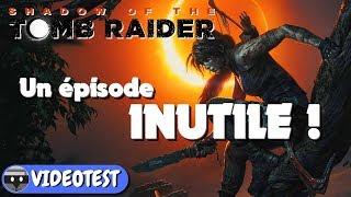 Vidéo-Test : SHADOW OF THE TOMB RAIDER TEST : un épisode INUTILE !