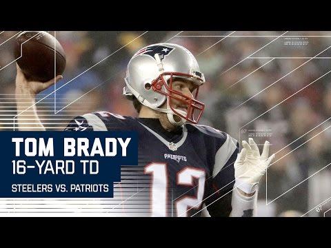 Tom Brady Leads Efficient 80-yard TD Drive! | Steelers vs. Patriots | AFC Championship Highlights