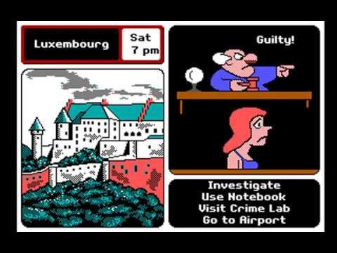 Where in Europe is Carmen Sandiego? (Rank: Gumshoe) (Brøderbund) (MS-DOS) [1988] [PC Longplay]