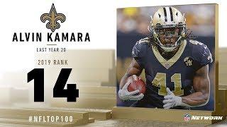 #14: Alvin Kamara (RB, Saints) | Top 100 Players of 2019 | NFL