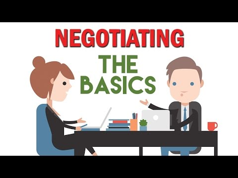 Negotiating with buyers - the basics when selling your own home