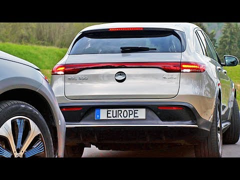 Mercedes-Benz e-Sound DEMO ? Warning Sound for Electric Cars