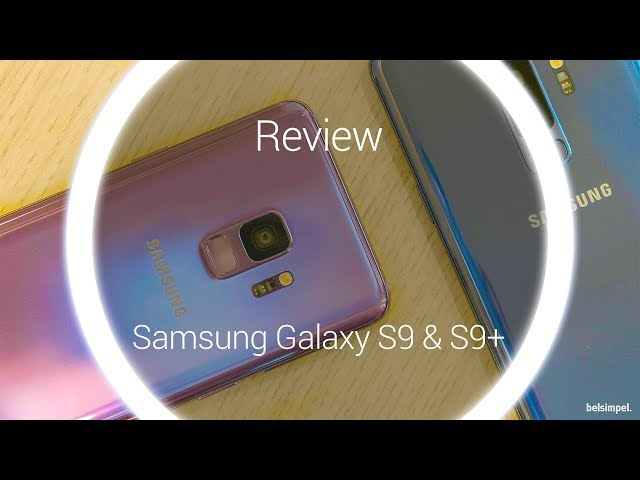 Belsimpel-productvideo voor de Samsung Galaxy S9+ 64GB G965 Blue