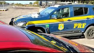 PRF prende traficante, em Caçapava do Sul, com drogas escondidas no painel do carro