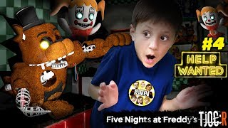 DARK ROOMS! FIVE NIGHTS at FREDDY's HELP WANTED + TJOC Reborn Showtime Remastered!