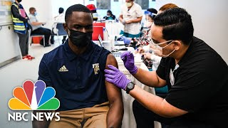 U.S. Reaches 70 Percent Covid Vaccine Goal As Cases Continue To Rise