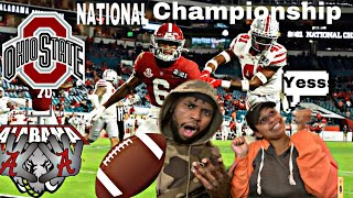 Alabama vs. Ohio State/ National Championship Game Highlights *Our Reaction*