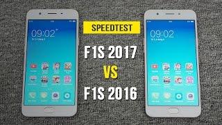 Speedtest - OPPO F1s 2017 và OPPO F1s 2016