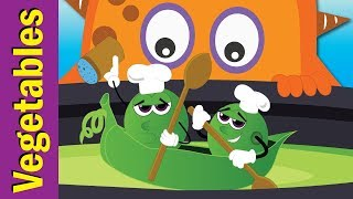Vegetables Are Yummy! | The Vegetables Song | Fun Kids English
