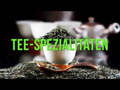 Teespezialitäten und Kaffeespezialitäten von Teevergnügen.de