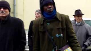 Protest la Jurnal TV pentru Inamicul Public