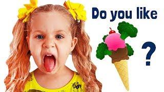 Do You Like Broccoli Ice Cream? with Roma and Diana