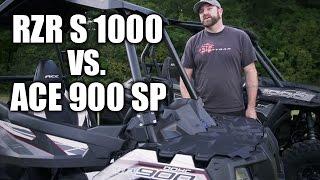 2016 Polaris RZR S 1000 and ACE 900 SP