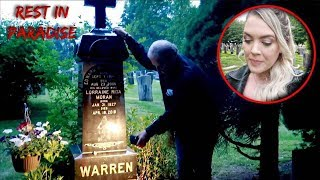 Visiting The Grave Of Ed & Lorraine Warren...