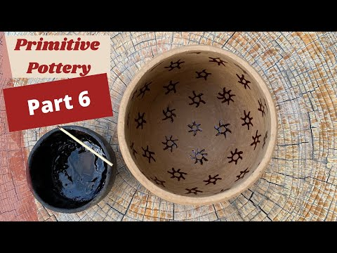 How to Make Primitive Pottery (Part 6 of 8)