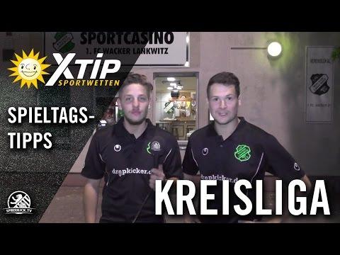 XTiP Spieltagstipp mit Nicolas Schröter und Dennie Hensel (beide 1. FC Wacker 21 Lankwitz) - 5. Spieltag, Kreisliga A, Staffel 3 | SPREEKICK.TV