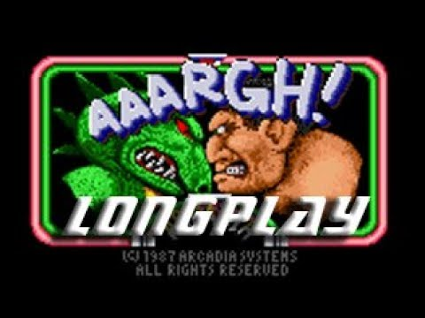 Longplay #161 Aaargh! (Commodore Amiga) - Ogre