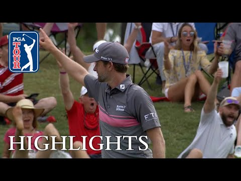 Webb Simpson?s hole-out eagle bunker shot at THE PLAYERS