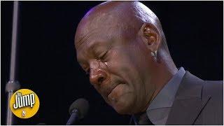 Seeing Michael Jordan cry at the Kobe memorial made it OK for everyone - Brian Shaw   The Jump