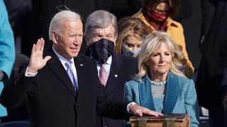 Inauguration: Joe Biden becomes the 46th president of the United States