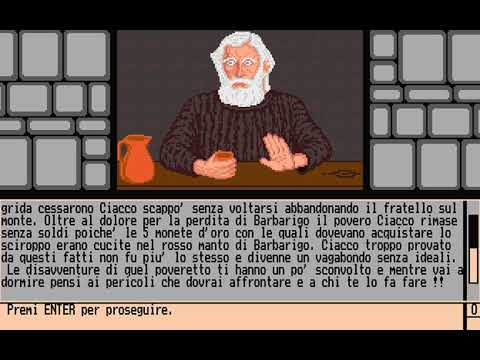Profezia (Trecision) (MS-DOS) [1991] [PC Longplay]