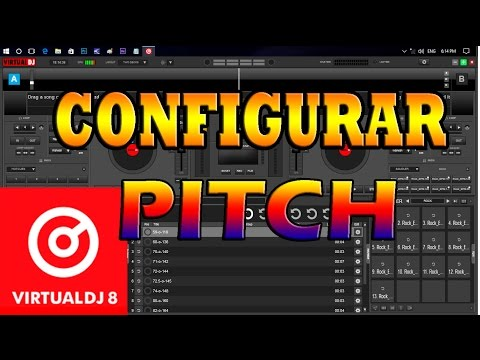 Configurar modo PITCH En Virtual Dj 8.2