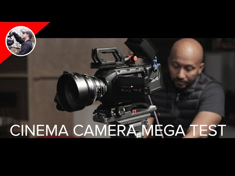 What Is The Cinema Camera Mega Test? - BTS with Gear Jones