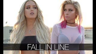 Christina Aguilera, Demi Lovato - Fall In Line (Andie Case & Macy Kate Cover)