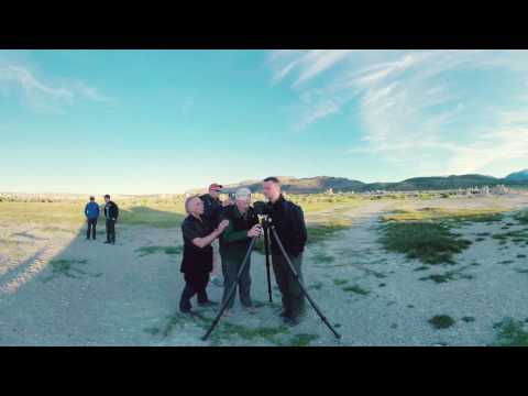 Mono Lake in Virtual Reality – Behind the scenes with Dr. Charles Stanley