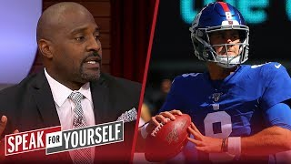 Marcellus Wiley on why he'd rather have Daniel Jones than Kyler Murray | NFL | SPEAK FOR YOURSELF