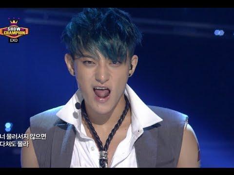 EXO - Growl, 엑소 - 으르렁, Show Champion 20130807