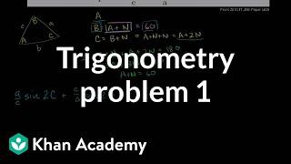 IIT JEE Trigonometry Problem 1