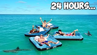 Surviving 24 Hours In The Ocean!