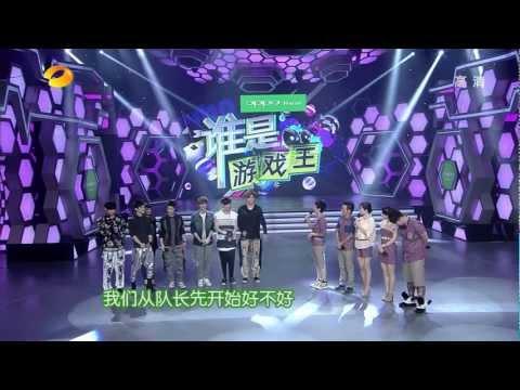 [Baidu Wufan (Kris) Bar &MerryKris International] [ENG SUB HD] EXO-M 120609 HNTV Happy Camp CUT