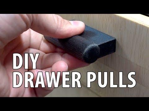 DIY Custom Drawer Pulls & Jig / Template using 3D Printing!