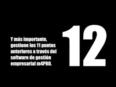 m4PRO ERP. 12 medidas para superar la crisis (Software gestión construcción, instaladora y afines)