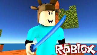 MINECRAFT SKYWARS IN ROBLOX! (Roblox SkyWars Trolling)