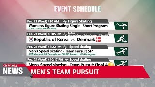 South Korea hoping to continue speed skating success in men's team pursuit